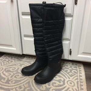 ade70d104c2 Tretorn Shoes - Tretorn Harriet Over the Knee Insulated Rain Boots